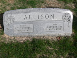 Rose <I>Hawkins</I> Allison