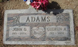"Gudrun Aslaug ""Goody"" Adams"