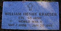 "William Henry ""Will"" Krauser"