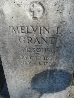 Pvt Melvin Lee Grant