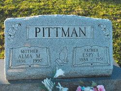 Alma Mary <I>Clark</I> Pittman
