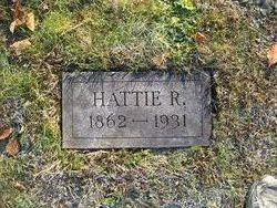 Hattie R Unknown