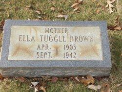 Ella <I>Tuggle</I> Brown