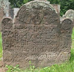 Lieut William Smithson