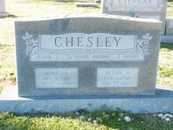 Bessie A Chesley