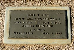 Audrey Coen <I>Adams</I> Aho