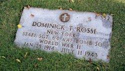Dominick T Rossi