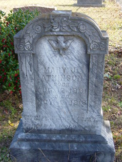 Mary J. <I>McCutcheon</I> Atkinson
