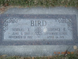 Vernal Edwin Bird