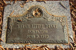 Sarah <I>Little</I> Drake