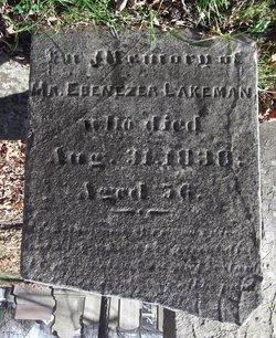 Capt Ebenezer Lakeman