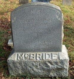 """Frances """"Fannie"""" <I>Scofield</I> McBride"""