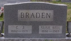 Susie Bell <I>Pate</I> Braden