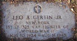1LT Leo A Gertin, Jr
