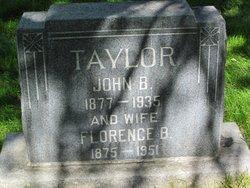 Florence <I>Brewster</I> Taylor