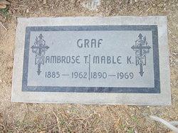 Mabel Katherine <I>Schroer</I> Graf