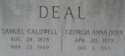 Samuel Caldwell Deal