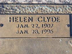 Helen <I>Clyde</I> Burns