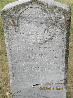 Robert Duncan Lee