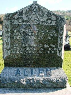 Martha C <I>Parks</I> Allen