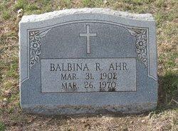 Balbina R. Ahr