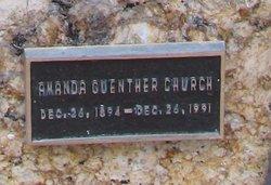 Amanda <I>Guenther</I> Church