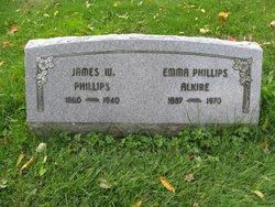 Emma <I>Phillips</I> Alkire