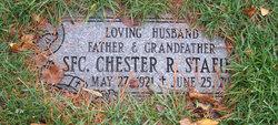 Sgt Chester R. Stafiej