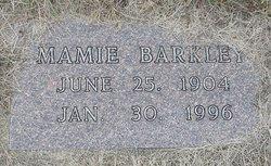 Mamie M Barkley