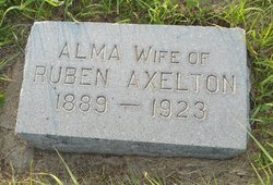 Alma Eleanor <I>Johnsmeyer</I> Axelton