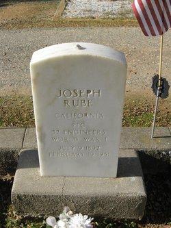 """Joseph """"Joe"""" Rube"""