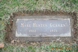 Mary Lysle <I>Hunter</I> Gerken