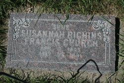 Susannah Jane <I>Richins</I> Church