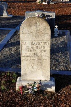 Martha Francy <I>Duke</I> Chandler