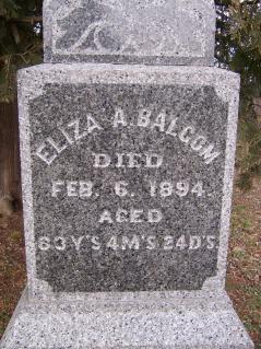 Eliza Ann Balcom