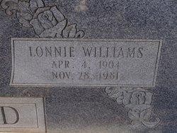 Lonnie <I>Williams</I> Lloyd