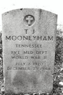 Pvt T. J. Mooneyham
