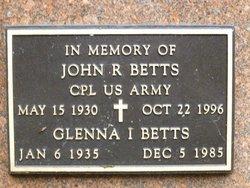 John R Betts