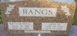 Ada Dorice <I>Tyrrell</I> Bangs
