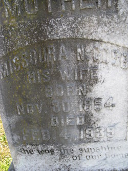 Missoura Nancy <I>Lee</I> Cobb