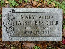 Mary Aldia <I>Parker</I> Bratcher