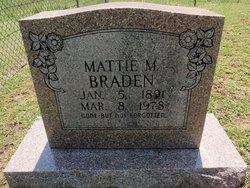 Mattie M. <I>Breeden</I> Braden