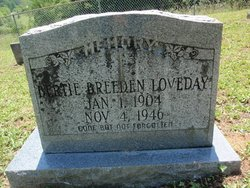 Bertie <I>Breeden</I> Loveday