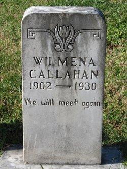 Wilmena W. <I>Grindstaff</I> Calahan