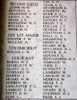 Lance Corporal James George Fuller