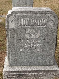 Dr Amasa Frank Lombard