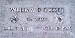 William Reeser