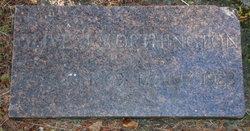 Olive Jane <I>Allen</I> Worthington