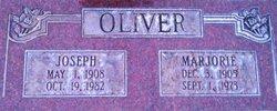 Marjorie <I>Healy</I> Oliver