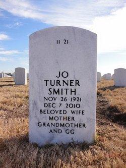 Jo <I>Turner</I> Smith